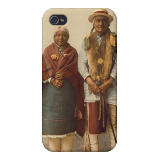 Native American Couple, 1899 Cover For iPhone 4