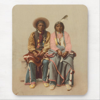 Native American Couple, 1899 Mouse Pad