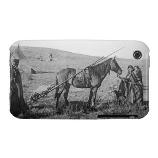 Native American Cree people of Western Canada, c.1 iPhone 3 Case