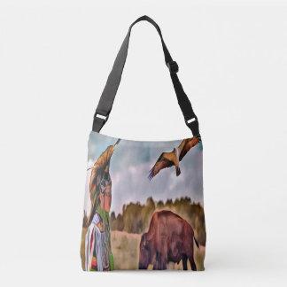 Native American CrossBody and Tote Bag
