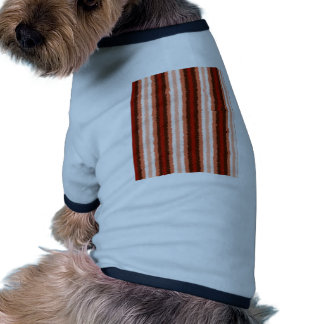 Native American Curly Stripes - 1 Dog Tee Shirt