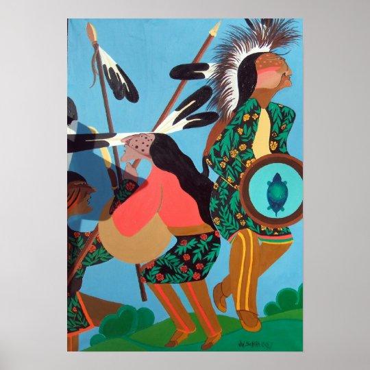 Native American Dance Poster