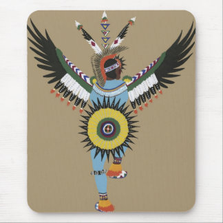 Native American Dancer-Mousepad Mouse Pad