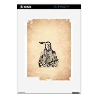 Native American Decal For iPad 2