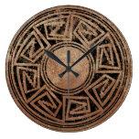 Native American Design 2 Clock