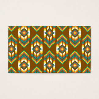 Native American Design Earth.png Business Card
