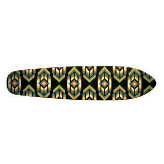 Native American Design Midnight.png Skateboard