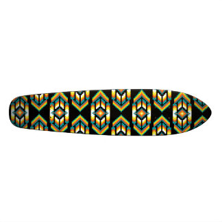 Native American Design Midnight.png Skateboard Deck