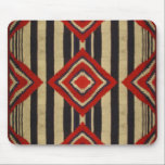 "Native American Design Mouse Pad<br><div class=""desc"">a Navajo Second Phase Chief Blanket design. Paying Homage to the Navajo Rug weavers of the early 18th century.</div>"