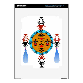 Native American design Skins For iPad 3
