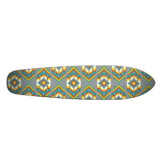 Native American Design Smoke Skateboard