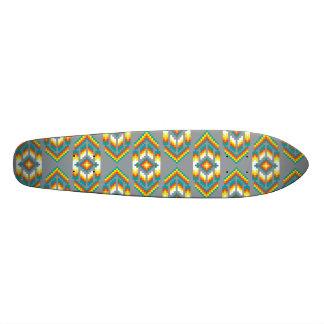 Native American Design Smoke Skateboard