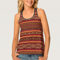 Native American Design Tank Top