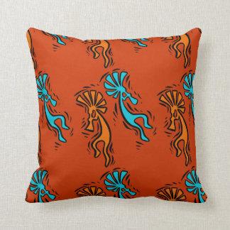 Native American Design Throw Pillow