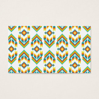 Native American Design White.png Business Card