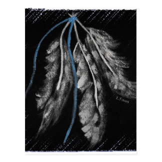 Native American Designs Postcard