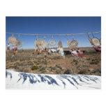 Native American dream catchers for sale outside Postcard
