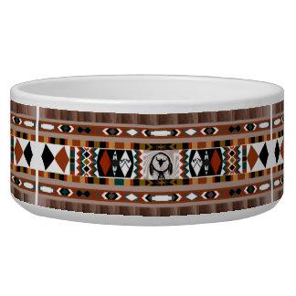 Native American Dreamcatcher Pet Bowl