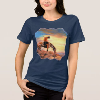 Native American End of the Trail Women's T-Shirt