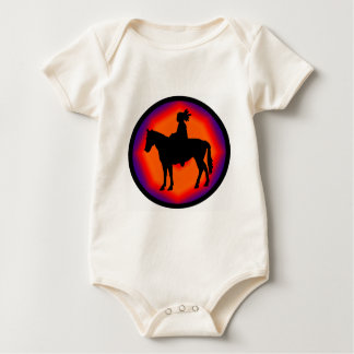 NATIVE AMERICAN EVENING BABY BODYSUIT