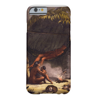 Native American Family under a Leaf Shelter (colou Barely There iPhone 6 Case