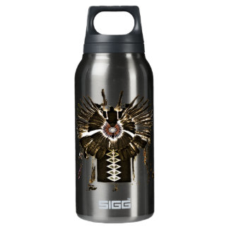 Native American Feathers and Apparel Insulated Water Bottle