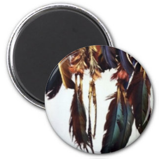 Native American Feathers Fridge Magnets