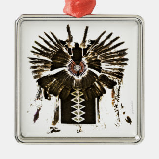 Native American Feathers Gifts and Apparel Metal Ornament
