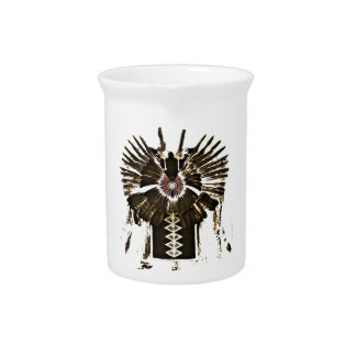 Native American Feathers Gifts and Apparel Pitcher