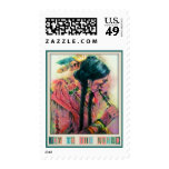 Native American Flute Player Christmas Postage
