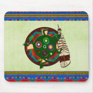 Native American Folk Art Frog Mousepad