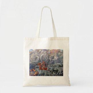 "Native American folktale bag: ""Liberation"" Tote Bag"