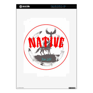 Native American for Life Decals For iPad 2