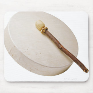 Native American Frame Drum Mouse Pad
