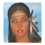 Native American Girl Bandanas