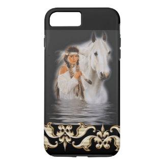 Native American Girl - iPhone 7 Plus Tough iPhone 7 Plus Case