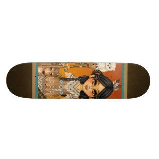 Native American Girl Skateboard