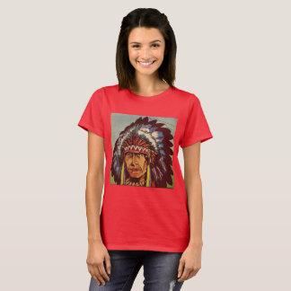 Native American Headdress Chief T-Shirt