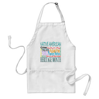 Native American Heritage Month Adult Apron