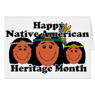 Native American Heritage Month Stationery Note Card