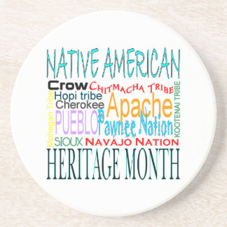 Native American Heritage Month Coaster