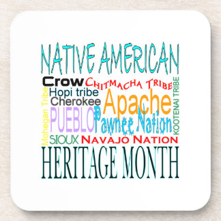 Native American Heritage Month Drink Coaster