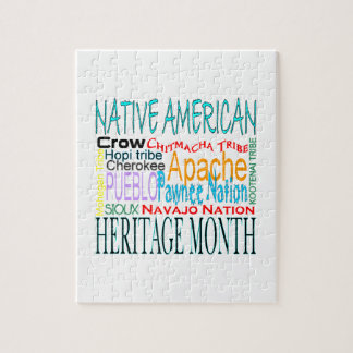 Native American Heritage Month Puzzles