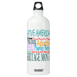 Native American Heritage Month Water Bottle