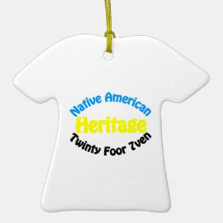 Native American Heritage - Twinty Foor 7ven Ornament