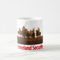 Native American Homeland Security Mug