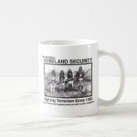 Native American Homeland Security T-shirts Coffee Mug