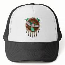 Native American hummingbird design Trucker Hat