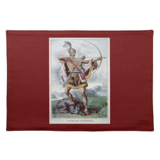 Native American Hunter placemat