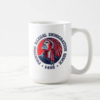 Native American (Illegal Immigration) Coffee Mug